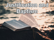 Justification and Baptism